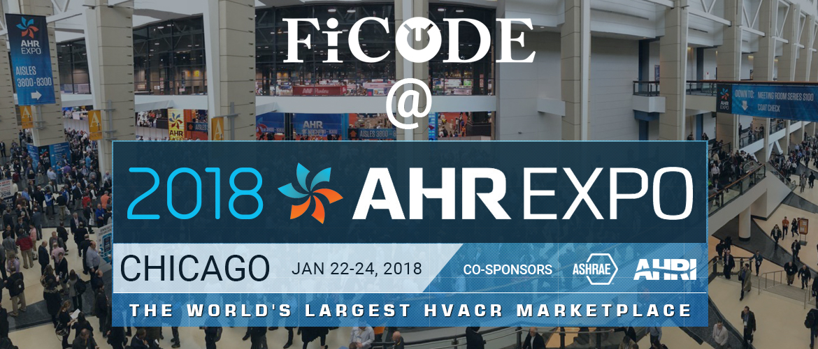 FICODE AT AHR EXPO 2018 – The World's Largest HVACR Marketplace
