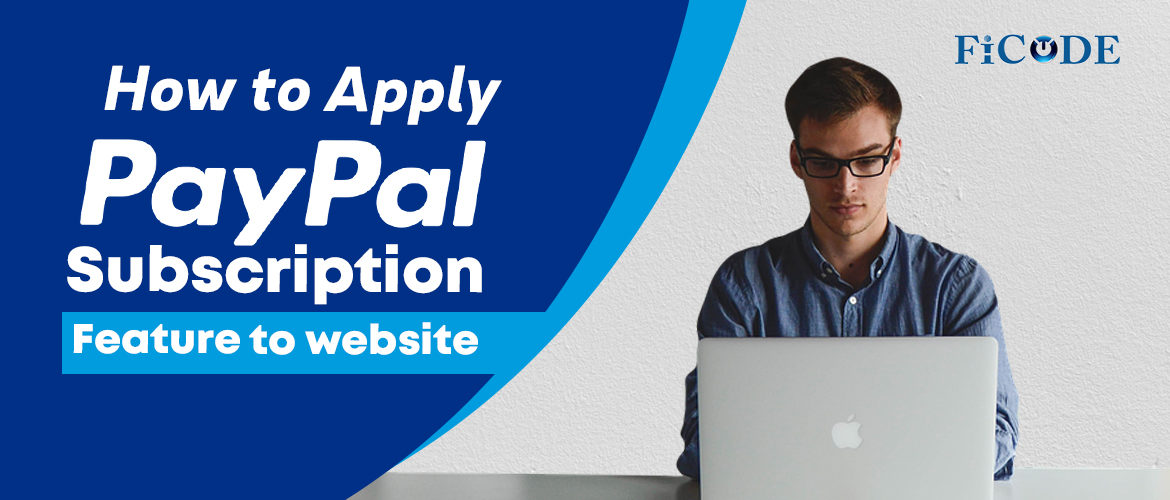 paypal Subscription feature for website